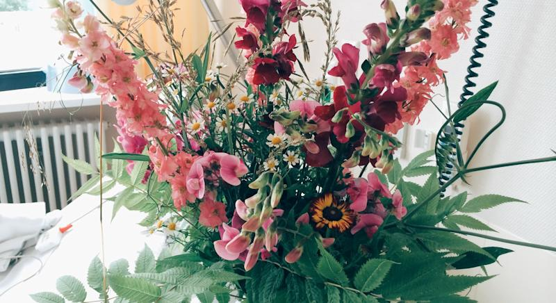 A cancer ward has been receiving a bouquet of flowers every week for more than a decade - but nobody knows who they're from [Image: Getty]