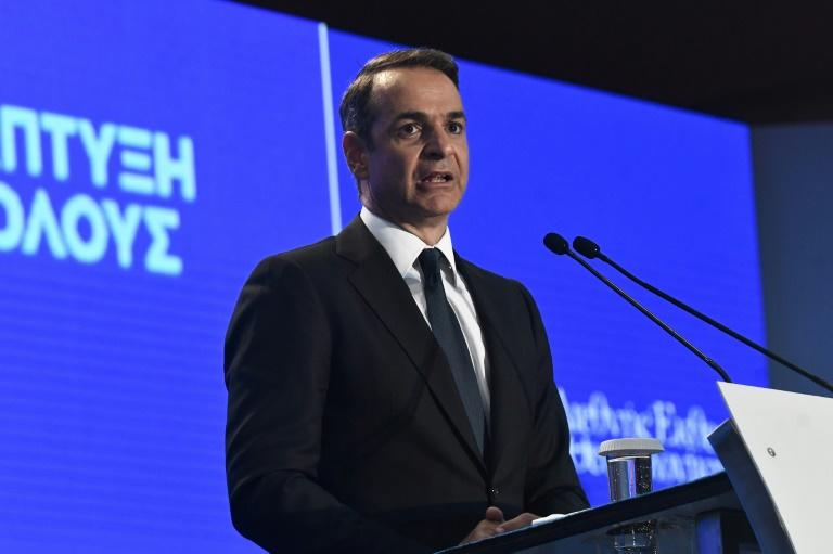 Greece has asked for early repayment of its IMF loan, according to Prime Minister Kyriakos Mitsotakis, in an image from September 7, 2019