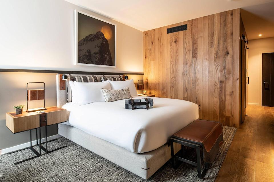 Rooms at The Cloudveil channel the western United States,