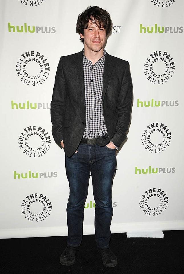"John Gallagher, Jr. attends the 30th annual PaleyFest featuring the cast of ""The Newsroom"" at the Saban Theatre on March 3, 2013 in Beverly Hills, California."