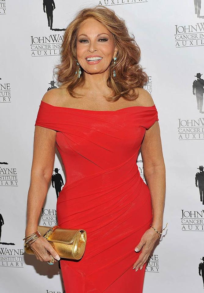 """Raquel Welch turns 71. John M. Heller/<a href=""""http://www.gettyimages.com/"""" target=""""new"""">GettyImages.com</a> - April 9, 2011"""