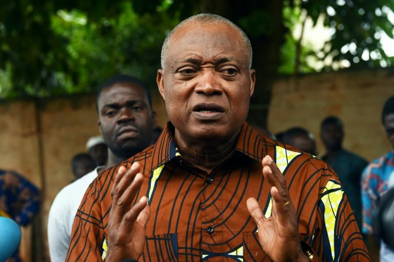 Jean-Pierre Fabre is the best-placed opposition candidate but his chances have been weakened by disunity (AFP Photo/PIUS UTOMI EKPEI)
