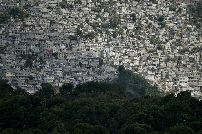 A view of the Jalouise neighborhood in Port-au-Prince, Haiti, Saturday, July 10, 2021, three days after President Jovenel Moise was assassinated in his home. (AP Photo / Matias Delacroix)