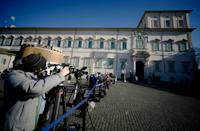 Italy's president will open discussions with party leaders on Wednesday afternoon