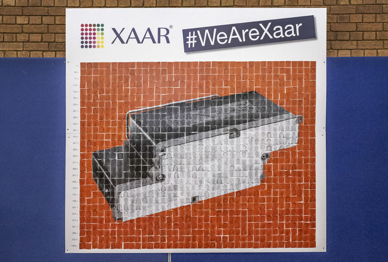 Printer maker Xaar's stock crashed over 40% after falling to a loss, announcing a 'painful' restructure, and a management exodus. Photo: Xaar