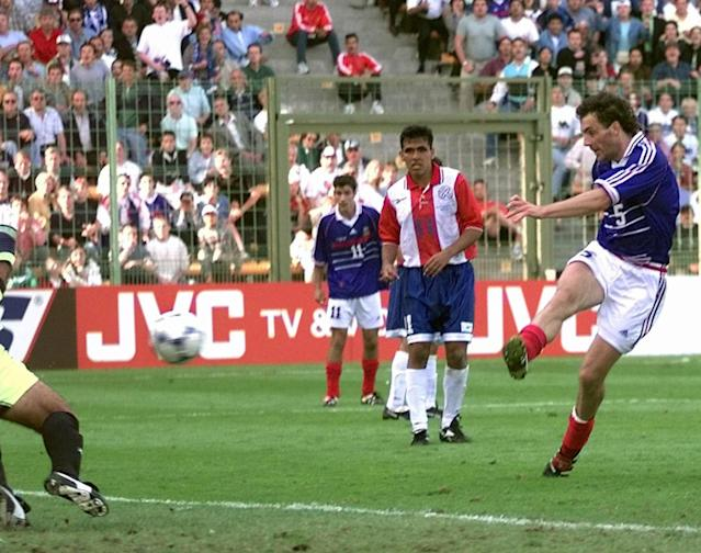 ON THIS DAY: Blanc saves France with 'golden goal'