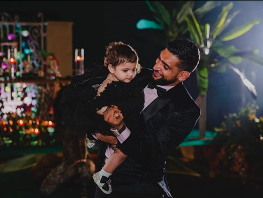 Amir Khan celebrated daughter Alayna's birthday by splurging over $100k. Photo: Instagram/opulenceeventslondon