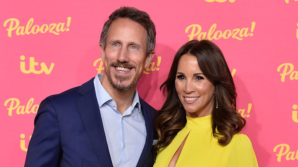 Nick Feeney has opened up about how he felt when his wife Andrea McLean went through a breakdown last year (Images: Getty Images)