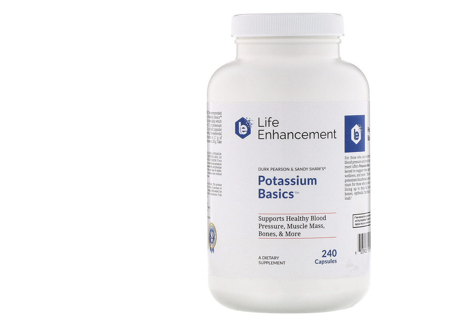 Life Enhancement, Potassium Basics. (PHOTO: iHerb Singapore)