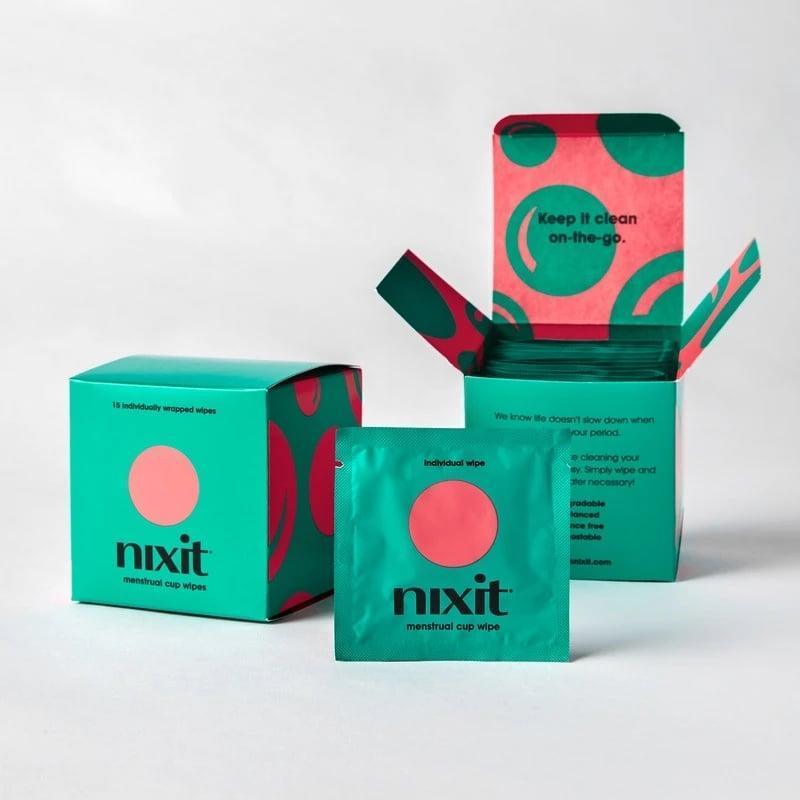 <p>The <span>Nixit Wipes</span> ($9 for 15 wipes) are individually wrapped, pH-balanced, and free of fragrance. Toss one in all the bags you regularly use in case of a menstrual-cup-cleansing emergency. </p>