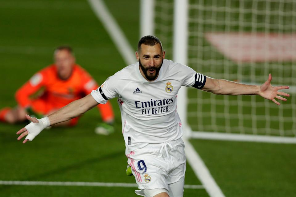 Can Chelsea's defence keep the enduringly prolific Karim Benzema quiet?AP