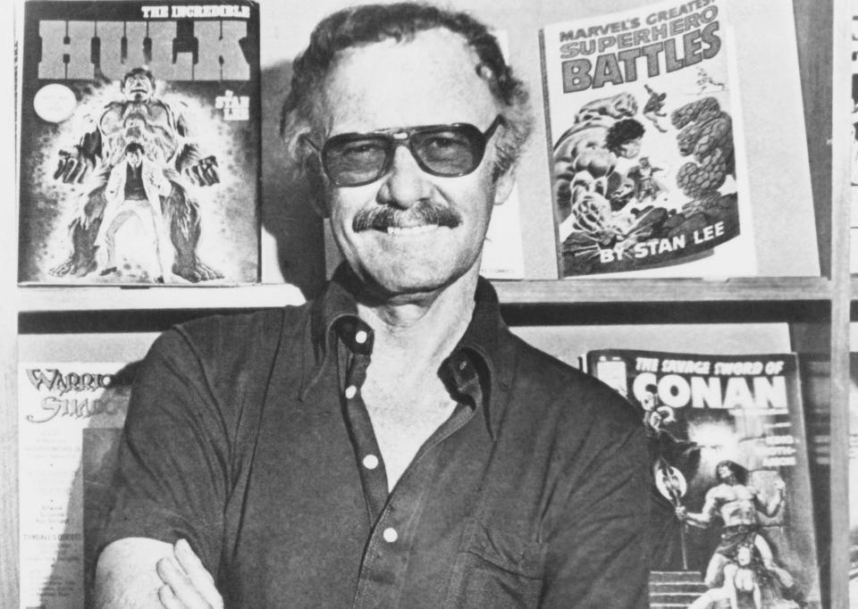 Stan Lee in 1988 (Photo: Cinecom/courtesy Everett Collection)