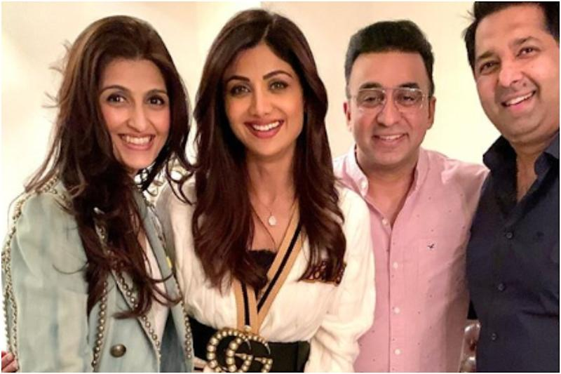 In Pics: Shilpa Shetty and Raj Kundra Have a Blast at Their Newborn's Welcome Party