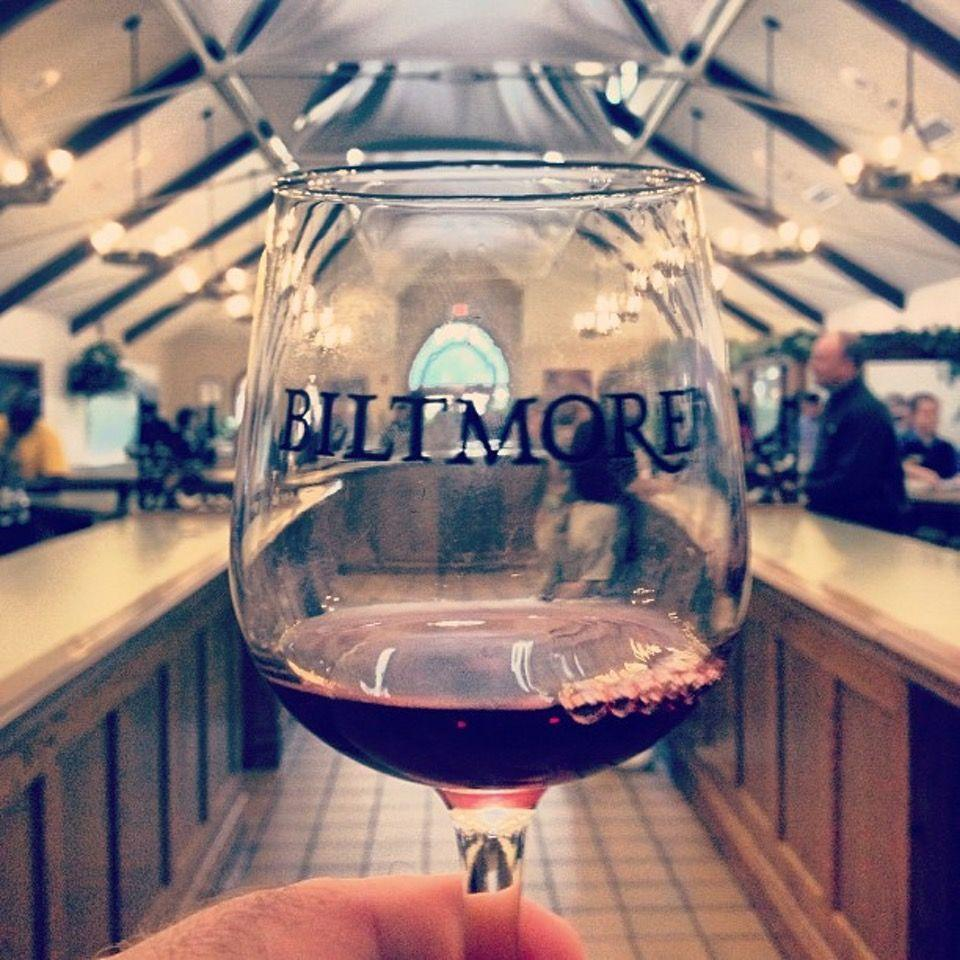 """<p><a href=""""https://foursquare.com/v/biltmore-estate-winery/4c48af273013a593e2f9bde1"""" rel=""""nofollow noopener"""" target=""""_blank"""" data-ylk=""""slk:Biltmore Estate Winery"""" class=""""link rapid-noclick-resp"""">Biltmore Estate Winery</a> in Asheville</p><p>""""The <span class=""""entity tip_taste_match"""">winery</span> and restaurants are amazing, the house is a historian's dream, and the <span class=""""entity tip_taste_match"""">gardens</span> are spectacular in the spring!<span class=""""redactor-invisible-space"""">"""" - Foursquare user <a href=""""https://foursquare.com/ataira89"""" rel=""""nofollow noopener"""" target=""""_blank"""" data-ylk=""""slk:Kari Johnson"""" class=""""link rapid-noclick-resp"""">Kari Johnson</a></span></p>"""