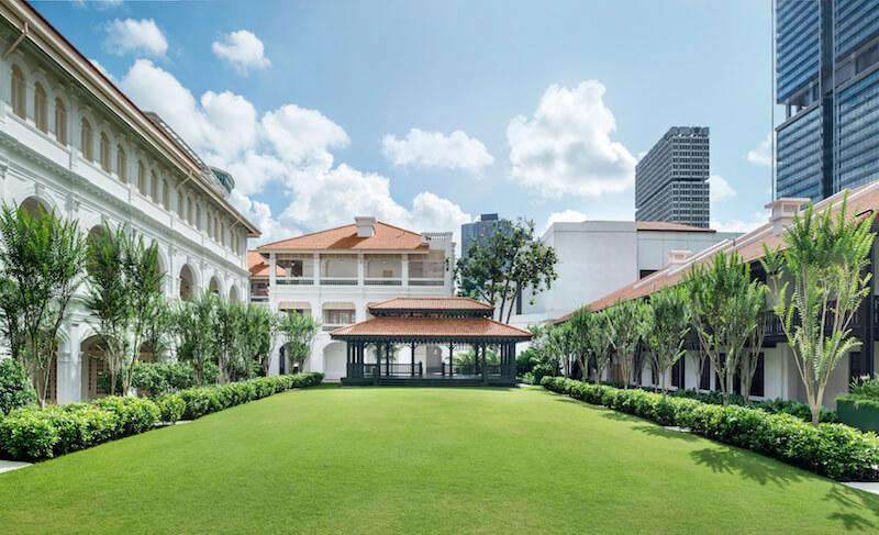 The Lawn. Photo: Raffles Hotel Singapore