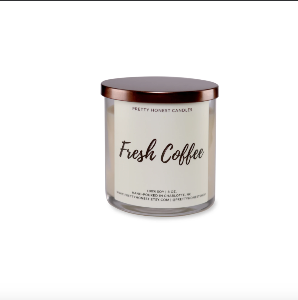 """<p><strong>Pretty Honest Candles</strong></p><p>amazon.com</p><p><strong>$25.00</strong></p><p><a href=""""https://www.amazon.com/dp/B07HWL3YMC?tag=syn-yahoo-20&ascsubtag=%5Bartid%7C10049.g.33332993%5Bsrc%7Cyahoo-us"""" rel=""""nofollow noopener"""" target=""""_blank"""" data-ylk=""""slk:Shop Now"""" class=""""link rapid-noclick-resp"""">Shop Now</a></p><p>An energizing candle will help her focus on her goals without the caffeine jitters.</p>"""