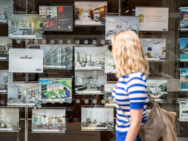 Young and old are struggling to get on the property ladder without the help of their parents' assets: Getty