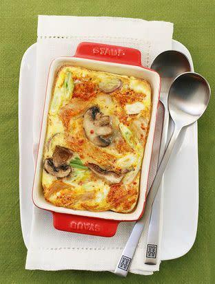 "<strong>Get the <a href=""http://food52.com/recipes/20999-spicy-kimchi-frittata"" rel=""nofollow noopener"" target=""_blank"" data-ylk=""slk:spicy kimchi frittata recipe"" class=""link rapid-noclick-resp"">spicy kimchi frittata recipe</a> by J. Boucher via Food52.</strong>"