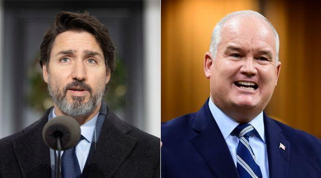 Staff in Prime Minister Justin Trudeau's office prematurely sent out a placeholder statement summarizing a call with Conservative Leader Erin O'Toole approximately 45 minutes before it was scheduled to start Friday.