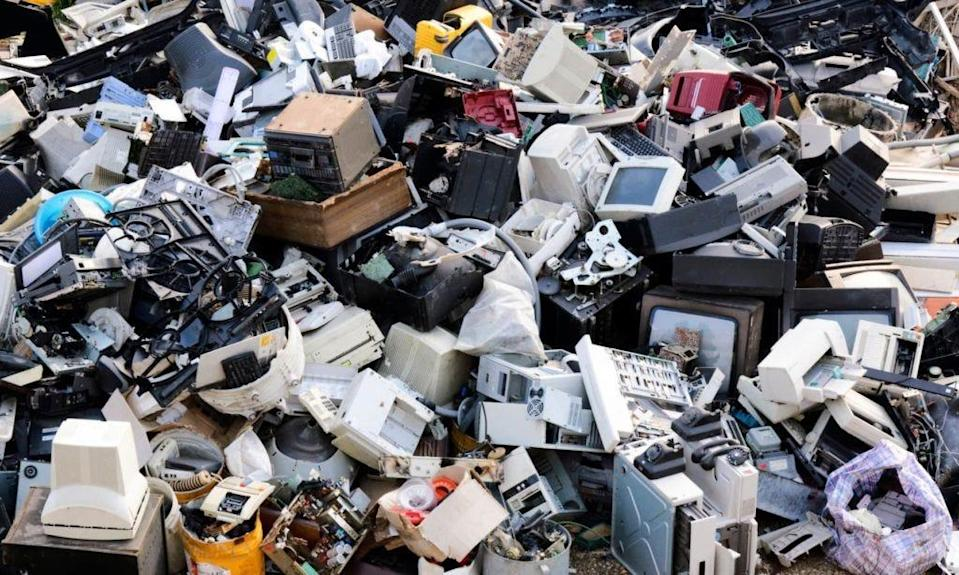 According to the United Nations Environment Programme, worldwide electronic waste e-waste grew to a record 53.6 million metric tons in 2019.