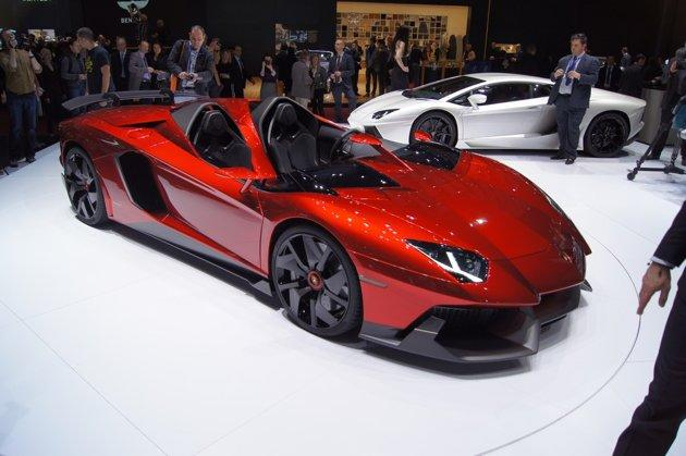 Lamborghini said that the J is a one-off and has already been sold to a lucky customer for £1.75million