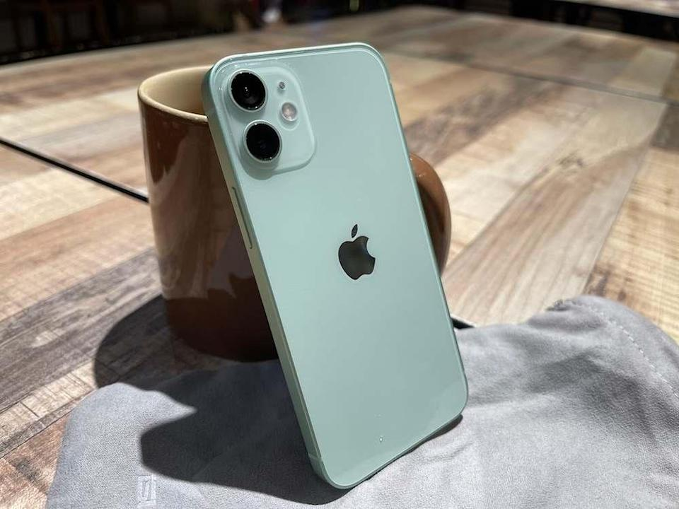 The iPhone 12 mini's design is familiar but also refreshed with more choices of colour. — Picture by Erna Mahyuni