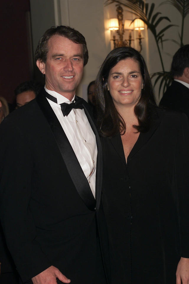(FILE PHOTO) 11/28/01  Robert and Mary Kennedy, Jr. at The Food Allergy Ball at The Plaza Hotel in New York City.  The ball benefits The Food Allergy Intiative, a non-profit organization dedicated to the research, education and treatment of food allergies. Robert F. Kennedy's ex-wife Mary has been found dead at her New York home, at the age of 52, with reports suggesting an apparent suicide.   (Photo by Scott Gries/Getty Images)