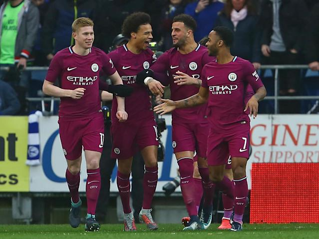 Manchester City ease into FA Cup fifth round as Kevin De Bruyne and Raheem Sterling see off Cardiff