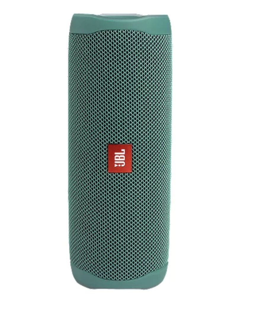JBL Flip 5 Eco Edition Portable Waterproof Speaker - Image via Sport Chek.