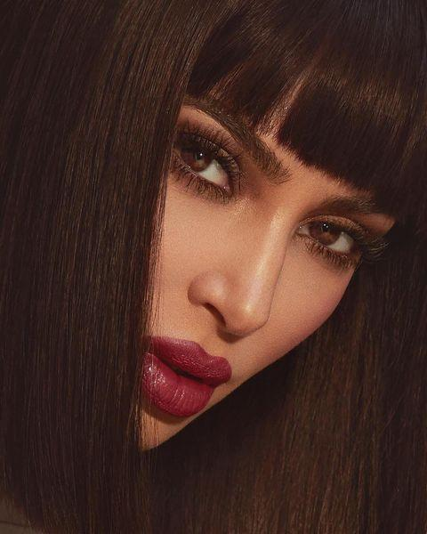 """<p>A little bit pin-up, a little bit micro fringe, and a whole lot seriously epic, we're feeling Kim's new bangs.</p><p><a href=""""https://www.instagram.com/p/BtL4TK5nPpV/?utm_source=ig_embed&utm_medium=loading"""" rel=""""nofollow noopener"""" target=""""_blank"""" data-ylk=""""slk:See the original post on Instagram"""" class=""""link rapid-noclick-resp"""">See the original post on Instagram</a></p>"""