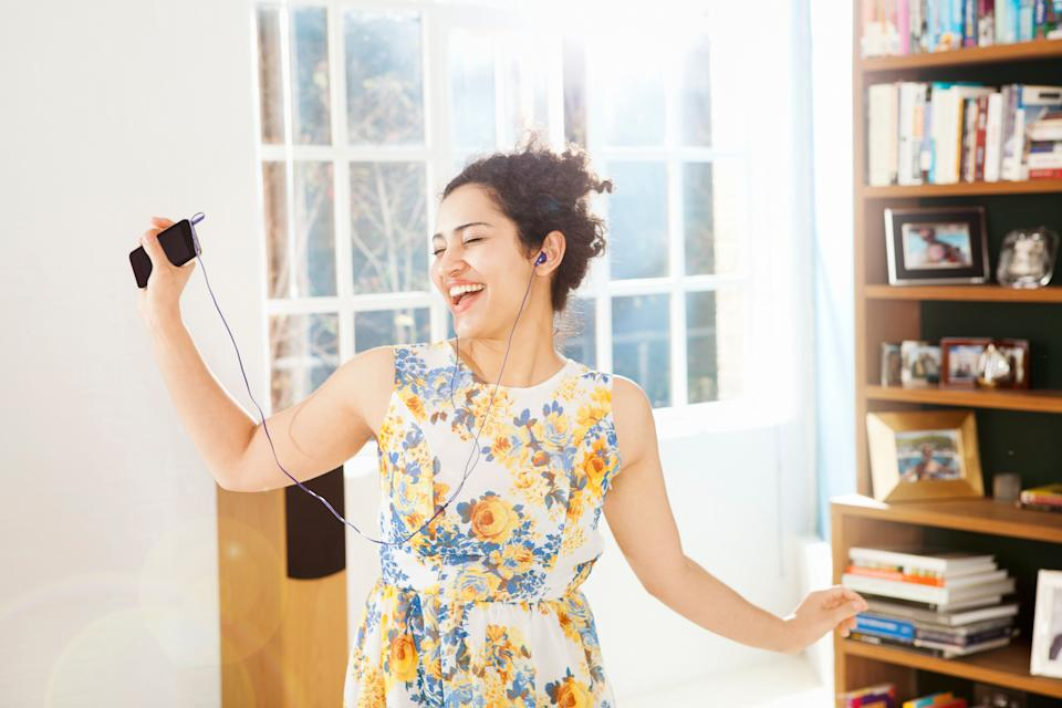 Turn on some good music in order to boost your well-being. (Photo: Betsie Van der Meer via Getty Images)