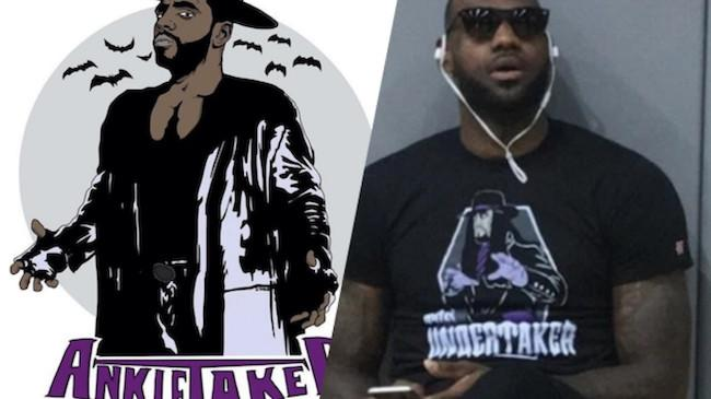 6770cb0017a7 Kyrie Irving's New Undertaker-Inspired Shirt Is The Cavs' Latest Nod ...