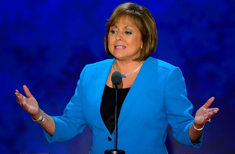 """Martinez, a lawyer and former district attorney, became the nation's first female Hispanic governor in 2011. She's also the first woman to ever hold the post in New Mexico. In 2013, she signed the <a href=""""http://www.kvia.com/news/Gov-Martinez-signs-Fair-Pay-for-Women-Act/19340964"""" target=""""_blank"""">Fair Pay for Women Act,</a> which makes it easier for New Mexico women to challenge their employers on pay discrimination. She's also stood up to GOP presidential hopeful Donald Trump on his anti-immigrant rhetoric, calling his comments """"<a href=""""http://bigstory.ap.org/article/b21ac0fd74b34145a58947a8442c3fdb/new-mexico-governor-denounces-trumps-comments"""" target=""""_blank"""">horrible</a>"""" and """"uncalled for."""""""