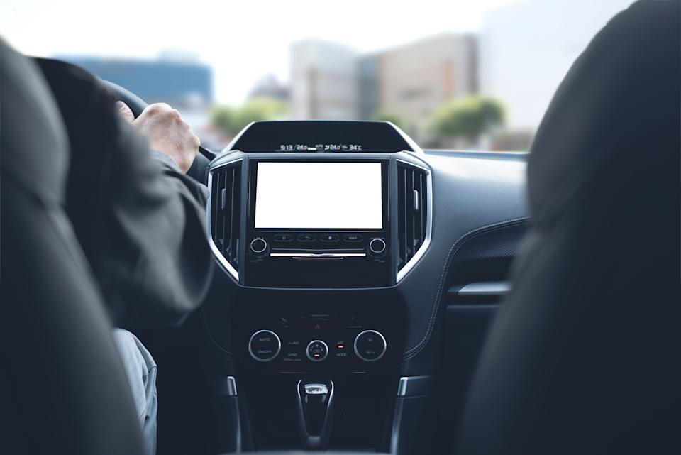 View of display unit next to driver. Source: Getty Image