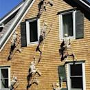 <p>Wow, these <span>Glumes Luminous Horror Hanging Skeletons</span> ($17) are pretty crazy.</p>