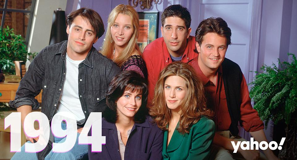 Friends first episode anniversary pilot September 22 1994 On This Day