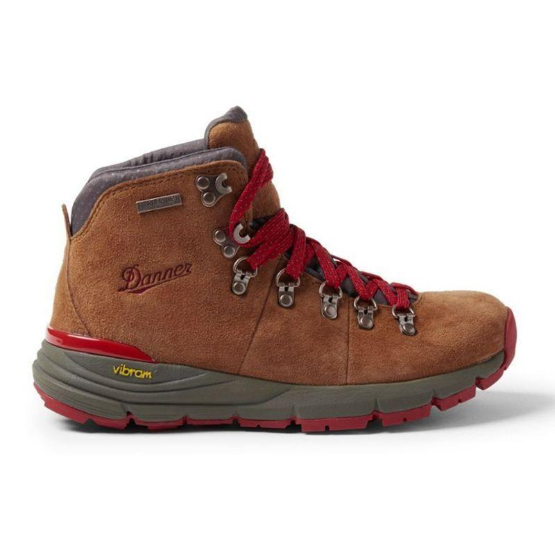 """<p><strong>Danner</strong></p><p>amazon.com</p><p><a href=""""https://www.amazon.com/dp/B01B3ZSVKQ?tag=syn-yahoo-20&ascsubtag=%5Bartid%7C2164.g.32317616%5Bsrc%7Cyahoo-us"""" rel=""""nofollow noopener"""" target=""""_blank"""" data-ylk=""""slk:Shop Now"""" class=""""link rapid-noclick-resp"""">Shop Now</a></p><p>Fashion meets function in the Mountain 600, with a 4.5-inch shaft to protect your ankles and stylish red laces to help you stand out on the trail. </p>"""