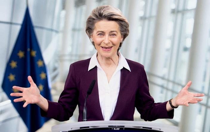 President of the European Commission Ursula von der Leyen  - Xinhua/Shutterstock