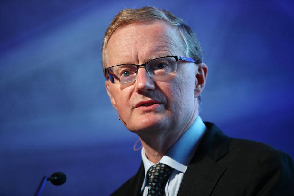 RBA governor Phil Lowe. Image: Getty