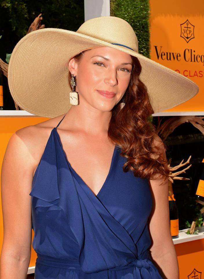 JERSEY CITY, NJ - JUNE 02:  Actress Amanda Righetti attends the fifth annual Veuve Clicquot Polo Classic on June 2, 2012 in Jersey City.  (Photo by Andrew H. Walker/Getty Images for Veuve Clicquot Polo Classic)