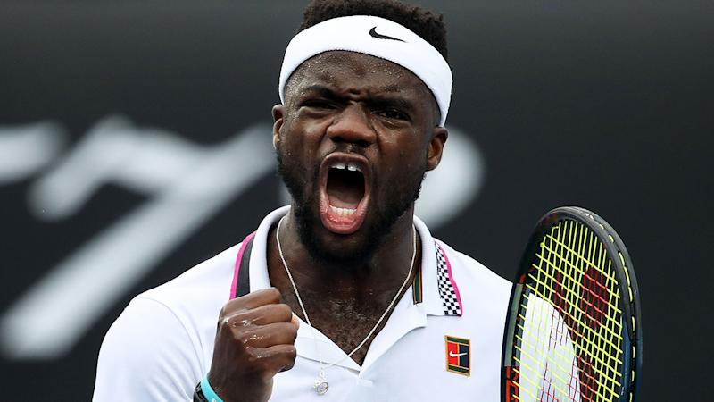 Frances Tiafoe continues stunning run to reach Australian Open quarterfinal
