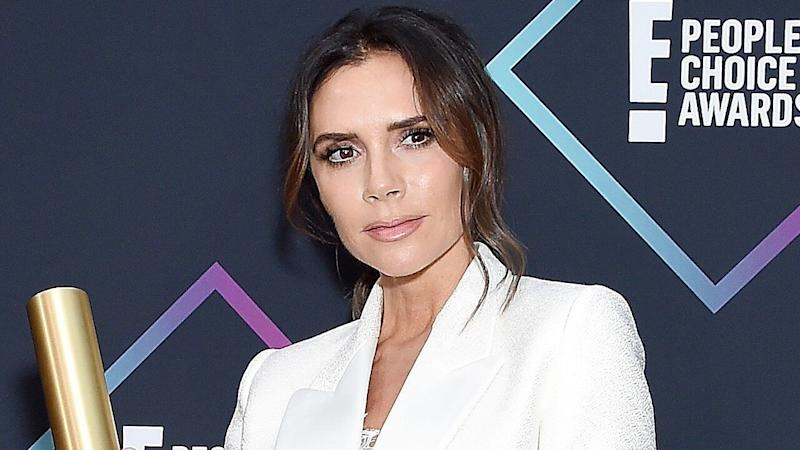 Victoria Beckham's Daughter Harper Is a Mini Spice Girl -- See the Adorable Pic!