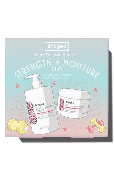 <p>The <span>Briogeo Don't Despair, Repair! Strength + Moisture Duo</span> ($49) can revive your hair when the salons are closed. </p>