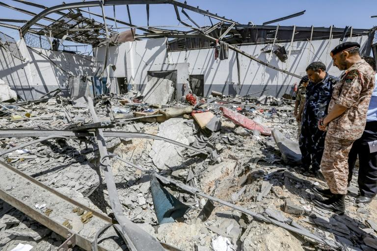 On July 3, more than 50 refugees and migrants were killed during an air strike on the Tajoura detention centre blamed on Haftar's forces