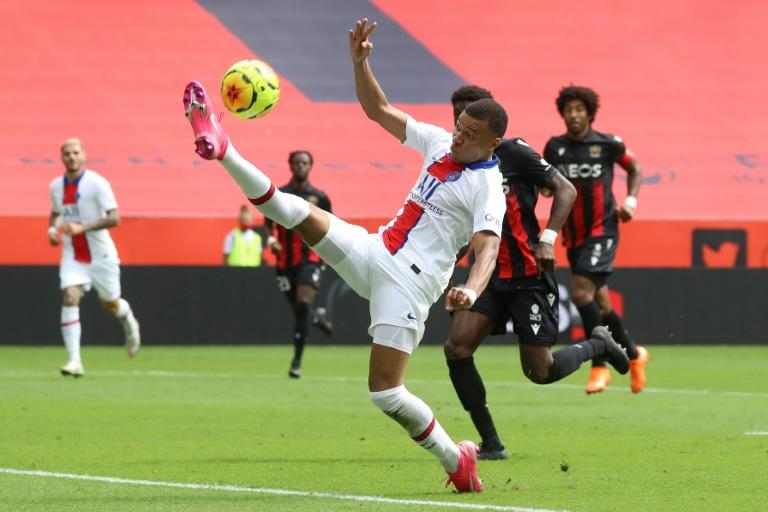 Mbappe inspires PSG to victory in Nice