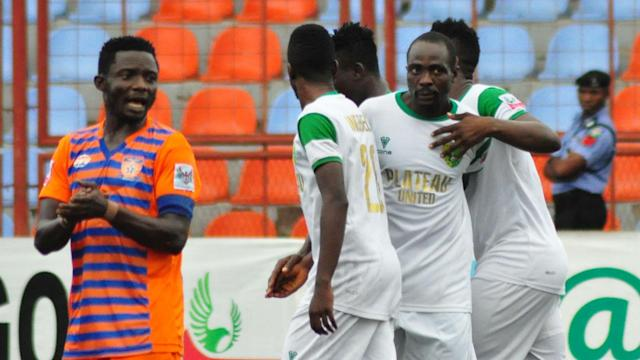 Golbe blames ill-luck for Plateau United's Federation Cup ouster