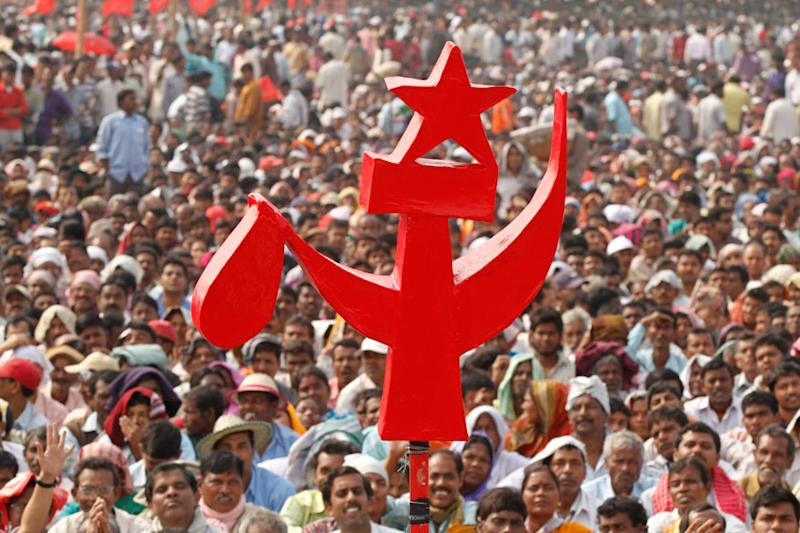 CPI(M) Central Committee rejects Yechury's draft resolution that proposed a Left front