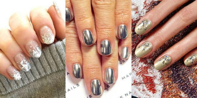 <p>Ring in 2017 with our favorite metallic manicures.<span></span><span></span><span></span><span></span></p>