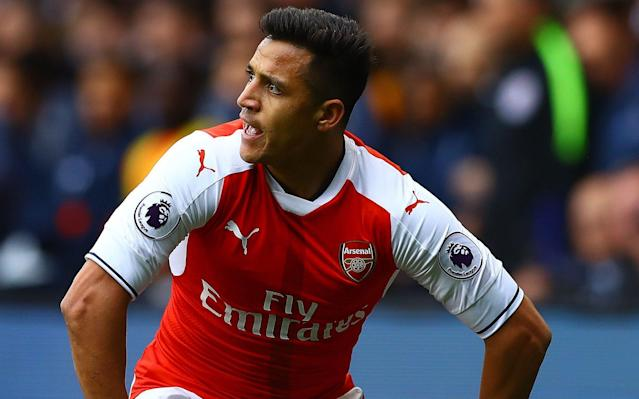 <span>Alexis Sanchez's future at Arsenal is also uncertain</span> <span>Credit: Rex Features </span>