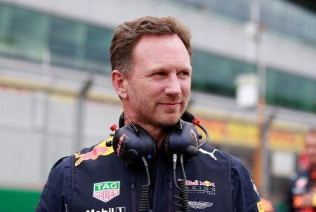 F1 - Formula One - British Grand Prix 2017 - Silverstone, Britain - July 16, 2017 Red Bull Team Principal Christian Horner before the race REUTERS/Jason Cairnduff